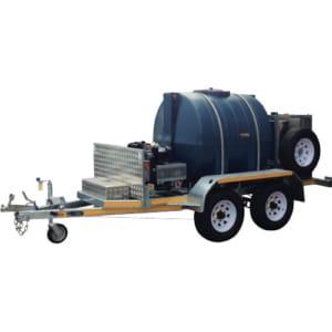 D24M-50H-TD Diesel Pressure Cleaner Trailer