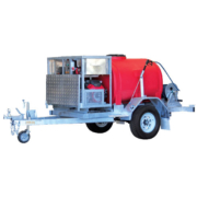 P20R-43H-TO - Petrol Pressure Cleaner Trailer