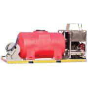 skid mount water blaster