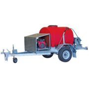 trailer mount pressure cleaners