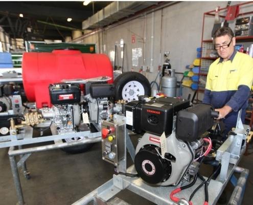 pressure cleaner maintenance